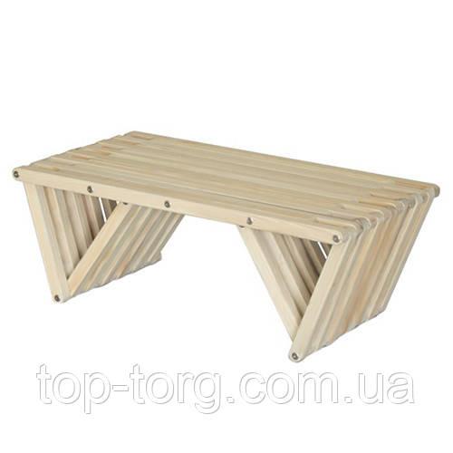 Стол, материал граб, длина 1 м