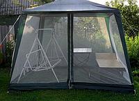 Большой шатер с проходными молниями и сеткой от насекомых DACH