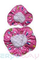 Чехлы F003 Pink на детское кресло Ergoway M300 Pink