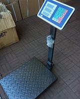 Весы TCS-K1 до 100 кг  Складные, усиленная платформа и стойка.