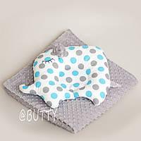 Одеяло и подушка для новорожденного, фото 1