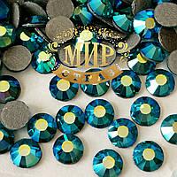 Стразы Preciosa (Чехия) Цвет Blue Zircon  AB ss20(4.8mm) Горячая фиксация.Цена за 100шт
