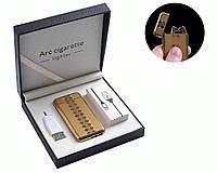 """Электроимпульсная USB зажигалка """"Абстракция"""" №4779-3, включается встряхиванием, нано технологии, суперподарок"""