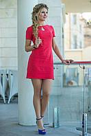 Красное льняное Платье Камилла