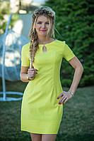 Желтое льняное Платье Камилла, фото 1