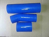 Патрубки радиатора силиконовые КАМАЗ  (к-т из 3х)