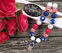 """Бусы для девочек """"Flip Flops"""" (ожерелье, кулон, бижутерия)"""