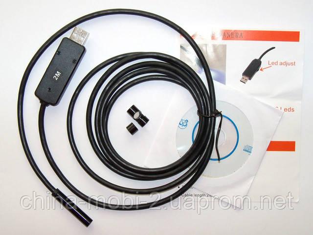Водозащищенный китайский эндоскоп 7мм х 1м: ru_sku.
