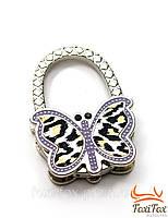 Оригинальная вешалка для женской сумочки в виде бабочки, фото 1