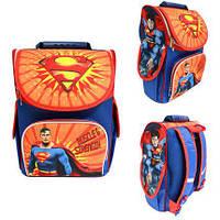 Ранец Рюкзак детский школьный ортопедический Smile Superman 987861