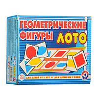 """Обучающая игрушка Лото """"Геометрические фигуры"""". Технок A2537"""