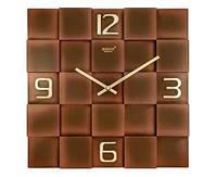 Стильные настенные часы Rikon 10051 Copper