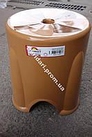 Табурет турецкий  Бежевый  мега прочный 750 кг ,плотный пластик (Разные цвета )