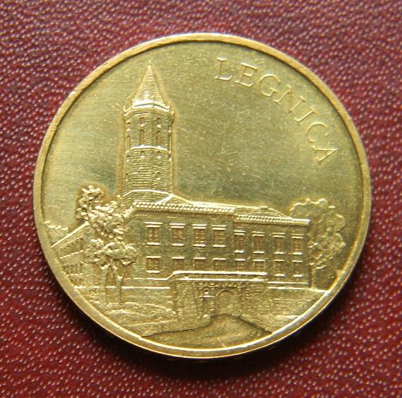 Польша 2 злотых 2006 г. Легница