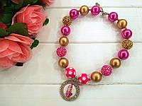 """Бусы для девочек """"Помадка"""" (ожерелье, кулон, колье, бижутерия)"""