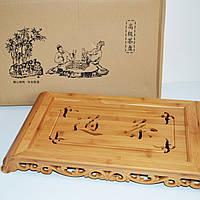 Чабань бамбуковая (чайная доска)