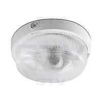 Светильник RINGO, E27, IP44, макс. 100W, белый (плафон стеклянный)