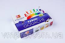 """Гуашь """"Луч"""" Классика 12 цветов, 20 ml, краски детские в картон. упаковке"""