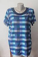 Блузка женская клетка с планочкой, фото 1