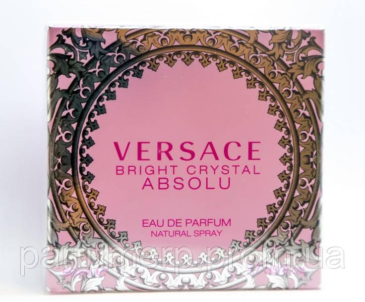 Versace Crystal Bright Absolu 50мл (Брайт Кристалл Абсолют Духи) - Оригинал!
