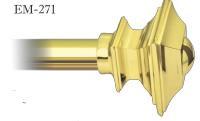 Наконечник на карниз 28 мм Em-271