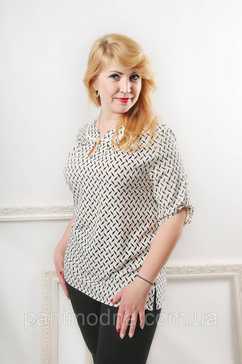 "Женская  блузка  ""Сабина"" из супер софта"