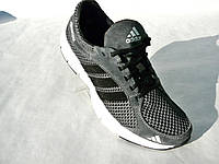 Кроссовки Adidas сетка турецкие материалы сер.