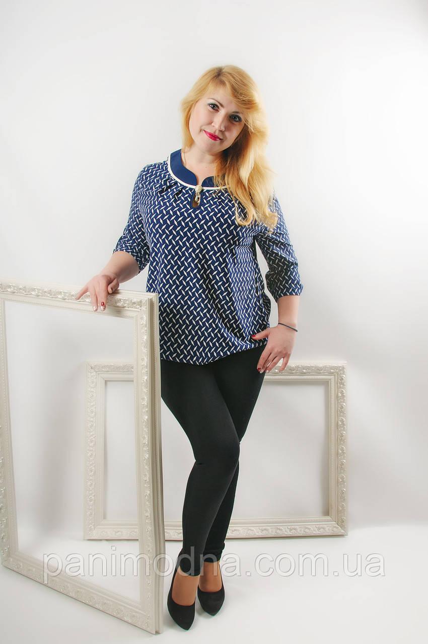 """Женская  блузка из софта """"Сабина"""""""
