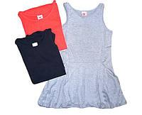 Трикотажный сарафан для девочек,Glostory, размеры 134/140-158/164 арт. GYQ 4148