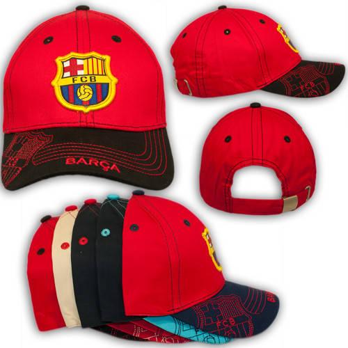 Детские кепки с эмблемой команды Barcelona, 1773_2, р. 52-54