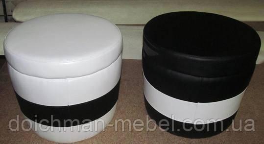 Пуфы и пуфики круглые по индивидуальным размерам