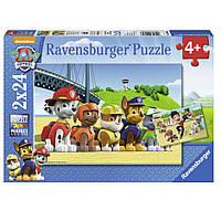 """Пазл-2х24 """"Щенячий патруль"""", Ravensburger"""