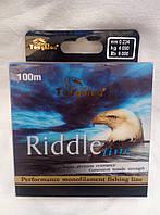 Леска рыболовная TOUGHLON  RIDDLE 0.234мм,4.090кг,100м
