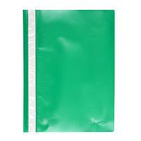 Скоросшиватель пластиковый  А4, папка Delta D1110, зеленый