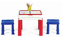 Стол для творчества и игры 3в1 Keter Constructable