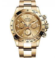 ЧАСЫ МУЖСКИЕ Rolex Daytona Gold (Ролекс золото) Браслет, Чоловічий годинник