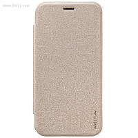 Чехол Nillkin Sparkle Leather Case для Asus ZenFone Zoom (ZX551ML) Shampaign Gold
