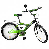 "Велосипед Tilly Explorer 20"" T-22013 Green Black"