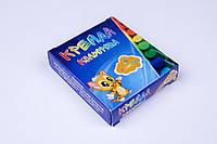 Крейда кольоровий асфальтний 6 кольорів/упаковка, олівці кольорові дитячі