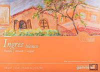 Альбом для пастели GAMMA Ingres 15 листов (склейка) bianco 32,5*45 см, бумага ТМ Fabriano