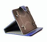 Чехол книжка 9 на скобах пластиковых уголках 240155 мм обложка универсальная для планшетов, фото 2