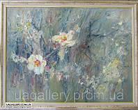 Картина для декора «Цветение персика» (купить картину для дома)
