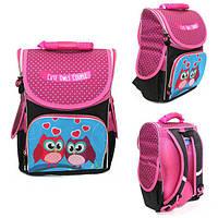 Ранец Рюкзак детский школьный ортопедический Smile Cute Owls 987937