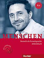 Menschen A2 Arbeitsbuch mit 2 Audio-CDs. Deutsch als Fremdsprache