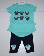 Детский костюм для девочек от 1 до 4 лет.