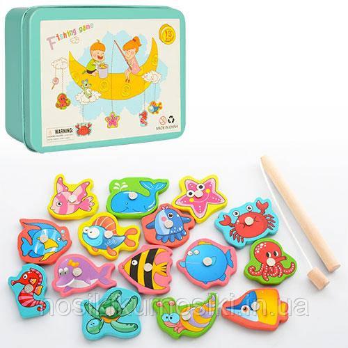 Деревянные игрушки Рыбалка MD 0950