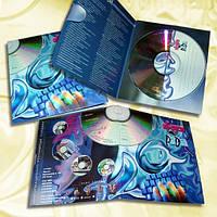 Офсетная печать полиграфии для дисков CD/DVD