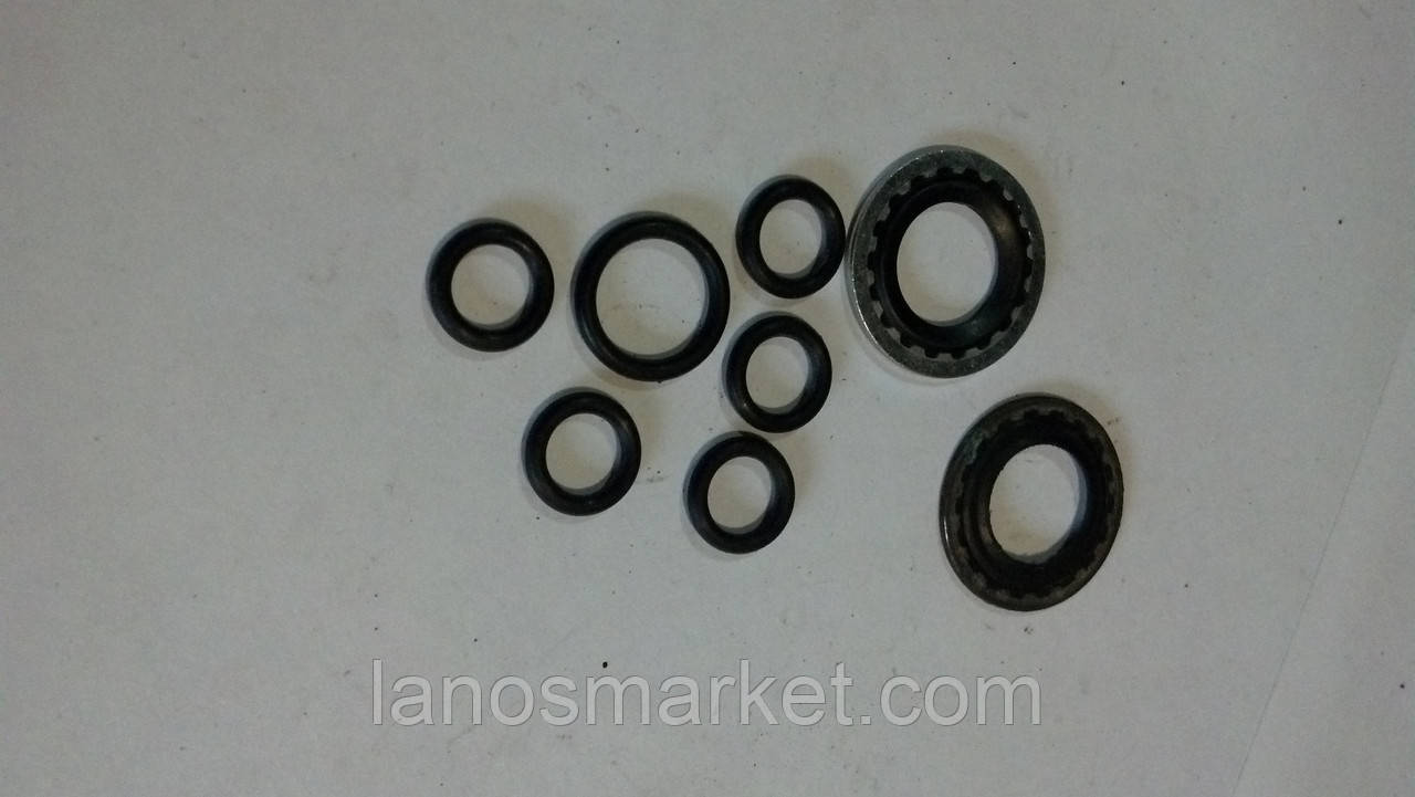 Комплект уплотнительных колец кондиционера на Ланос