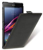 Кожаный чехол Melkco для Sony Xperia Z Ultra C6802 черный, фото 1