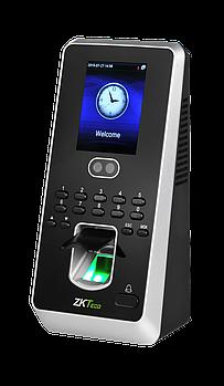 Терминал контроля доступа по лицам и отпечатку пальца ZKTeco MultiBio800-H